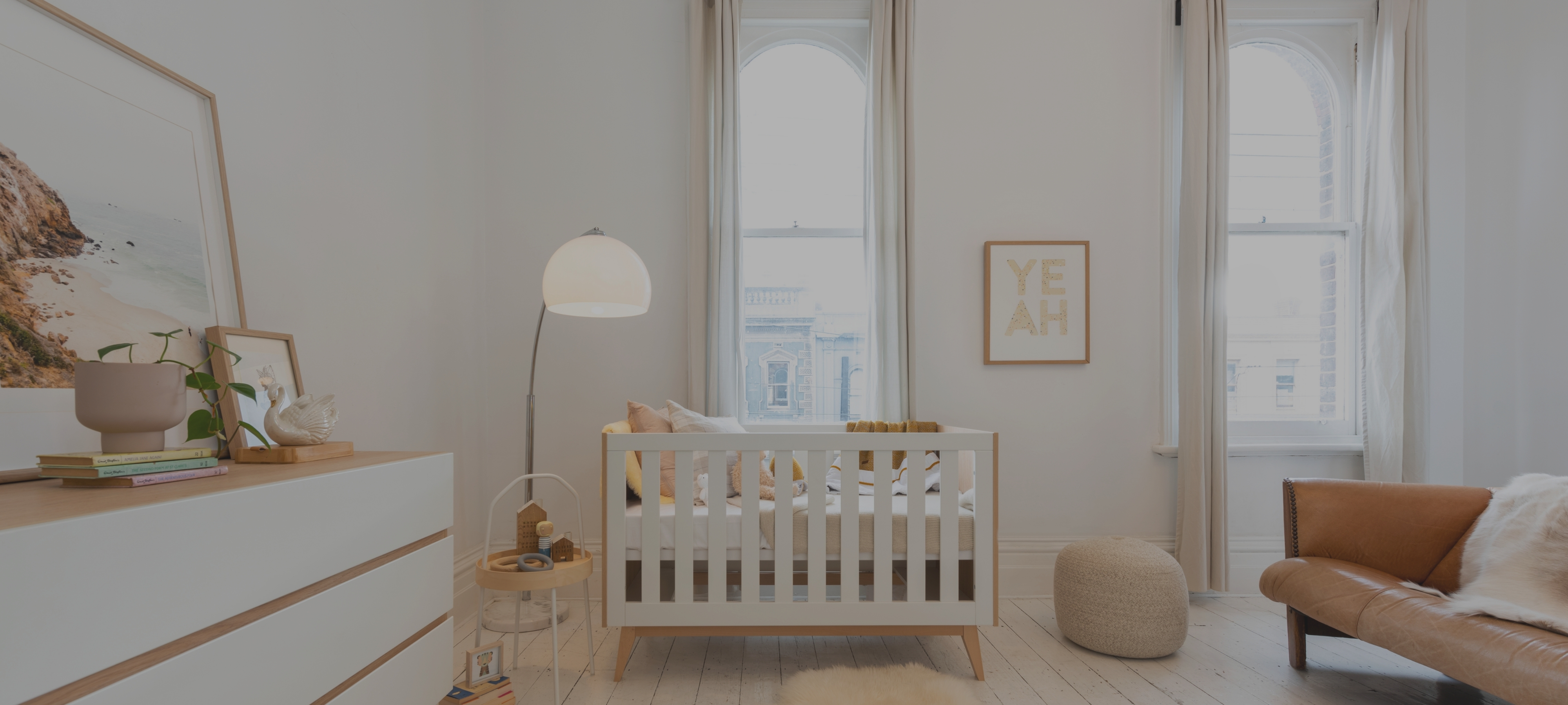 Tommi Nursery Package - Cot & Chest