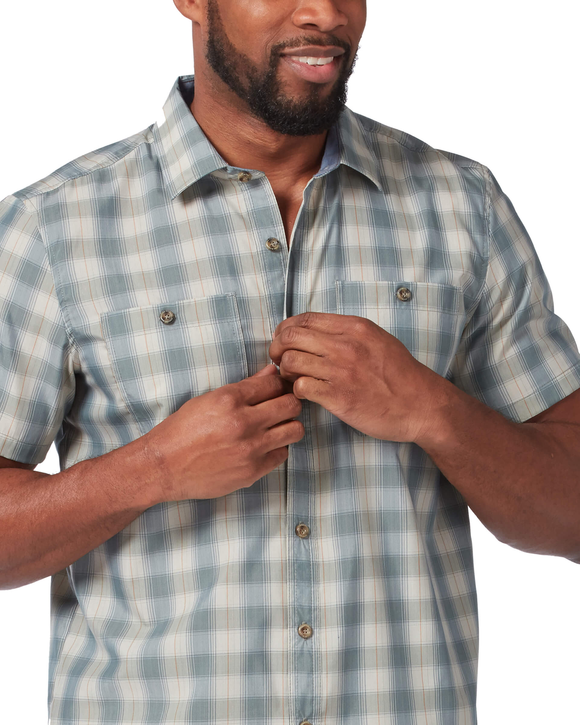 Men's Poplin Adventure Short Sleeve Shirt