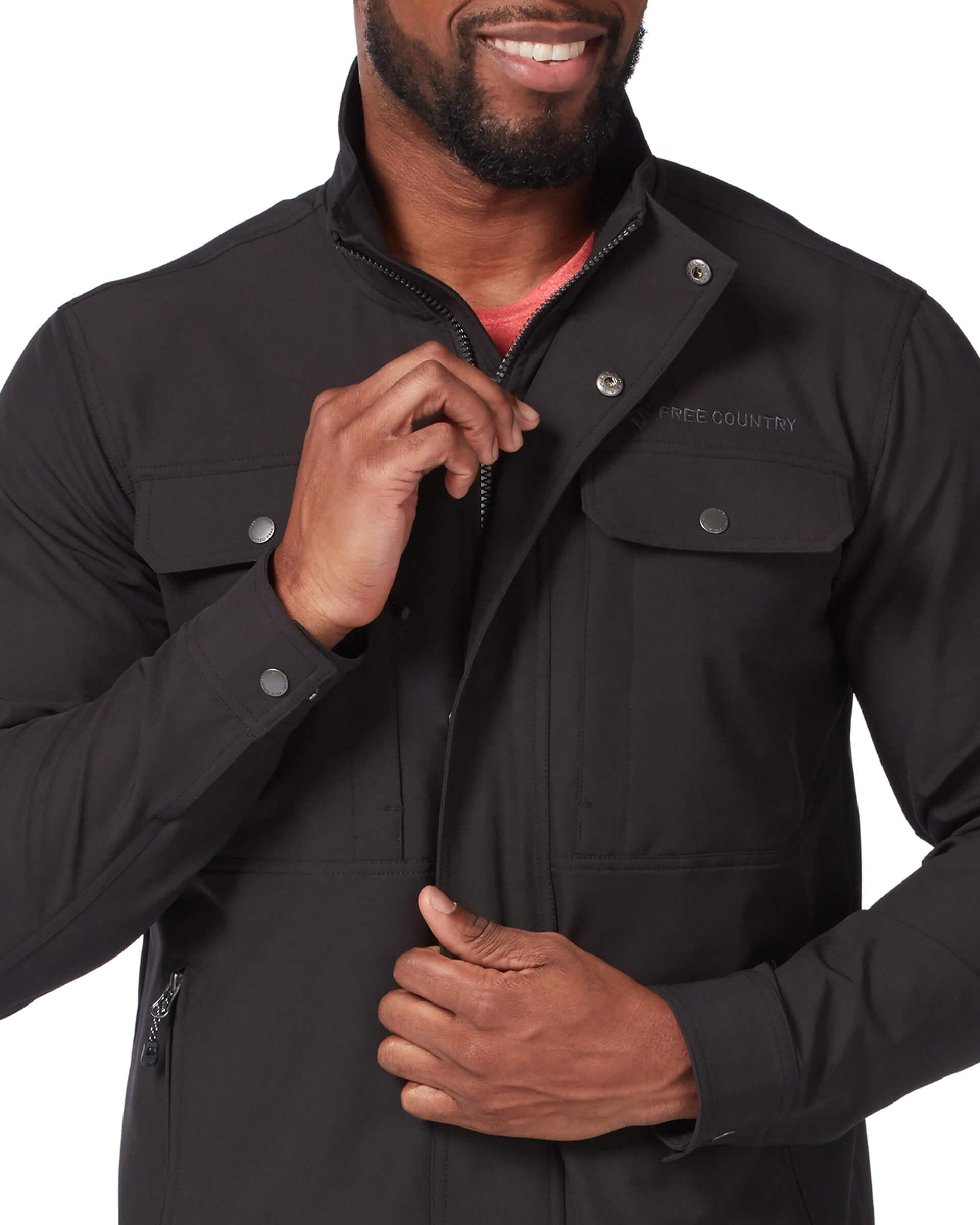 Men's Lightweight Aerobic Safari Soft Shell Jacket