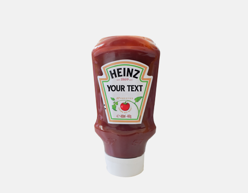 Photograph of Personalised Tomato Ketchup product