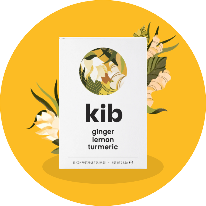 ginger, lemon, turmeric