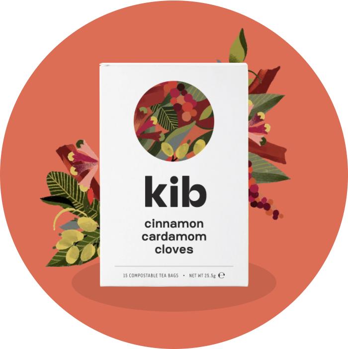 cinnamon, cardamom, cloves