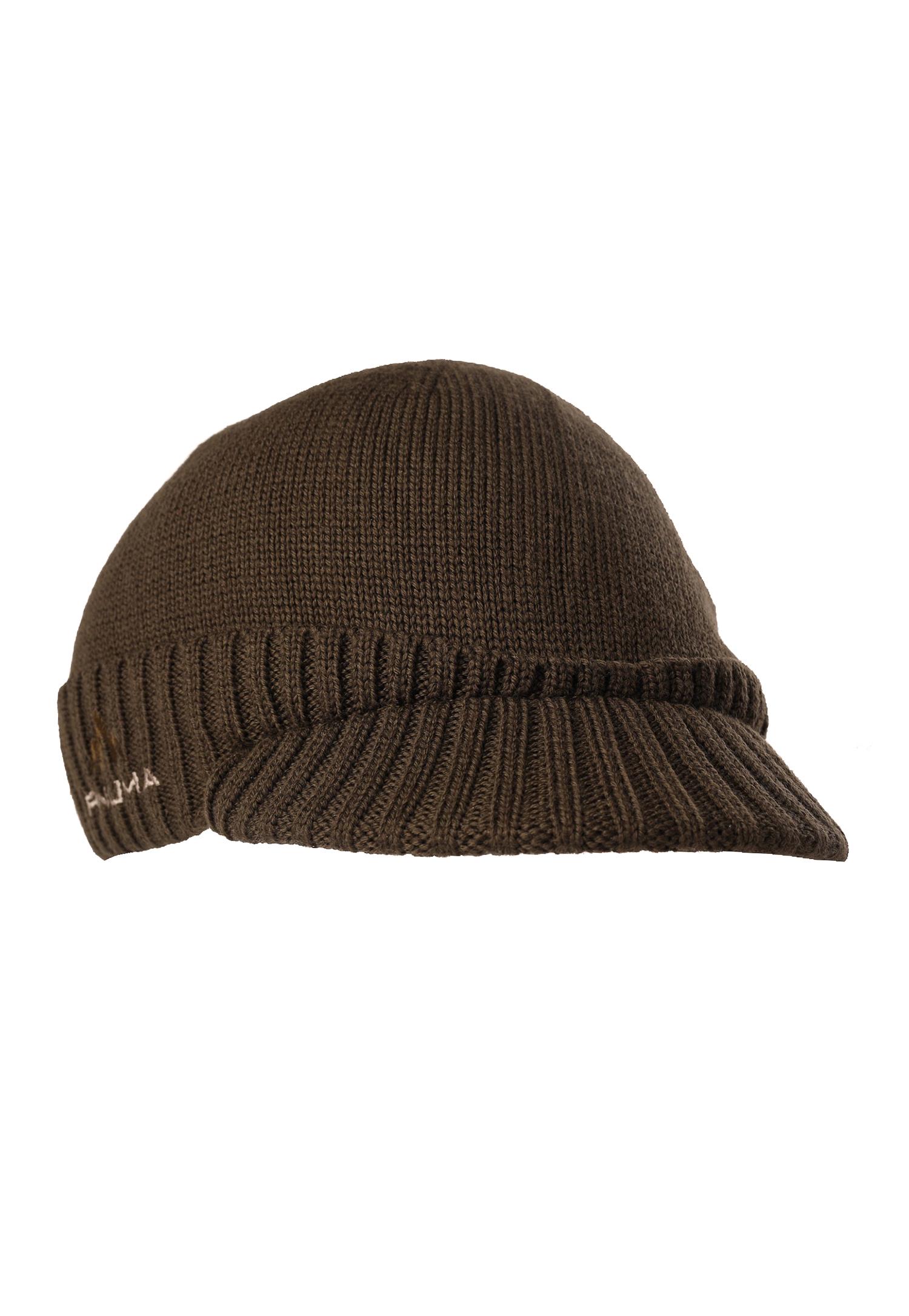 Merino Wool Visor Beanie