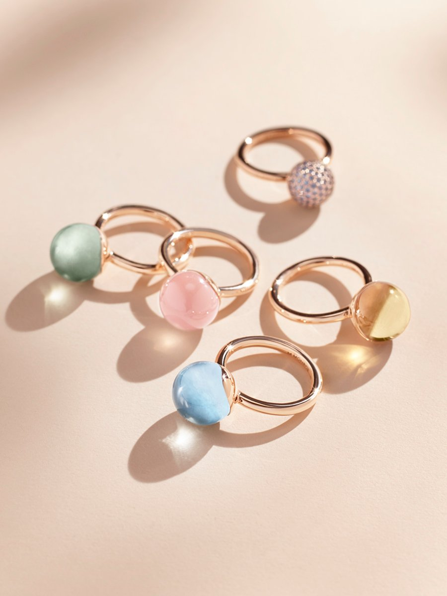 Enhance your Aura with<br>colorful stones and whimsical energy.