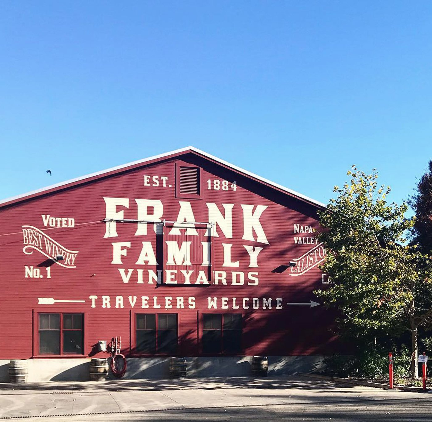 Frank Family Vineyards, Napa Valley.