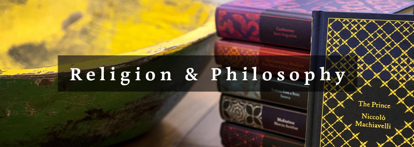 Banner image for Religion & Philosophy