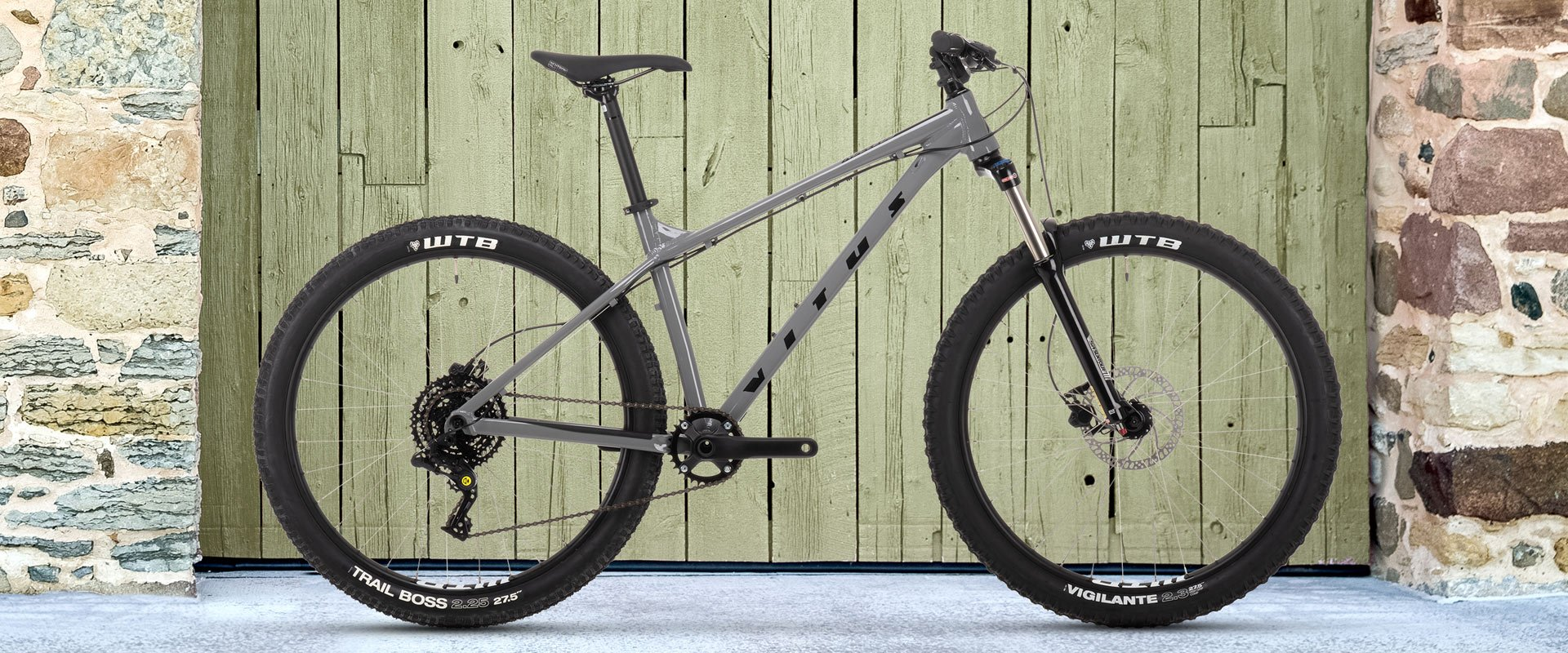 Vitus Nucleus 27 VR Mountain Bike   Grey