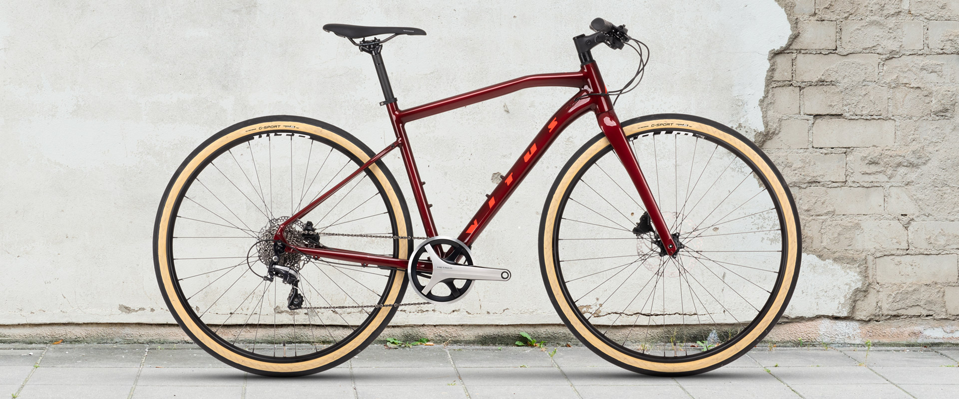 Vitus Mach 3 VRX Urban Bike Metrea