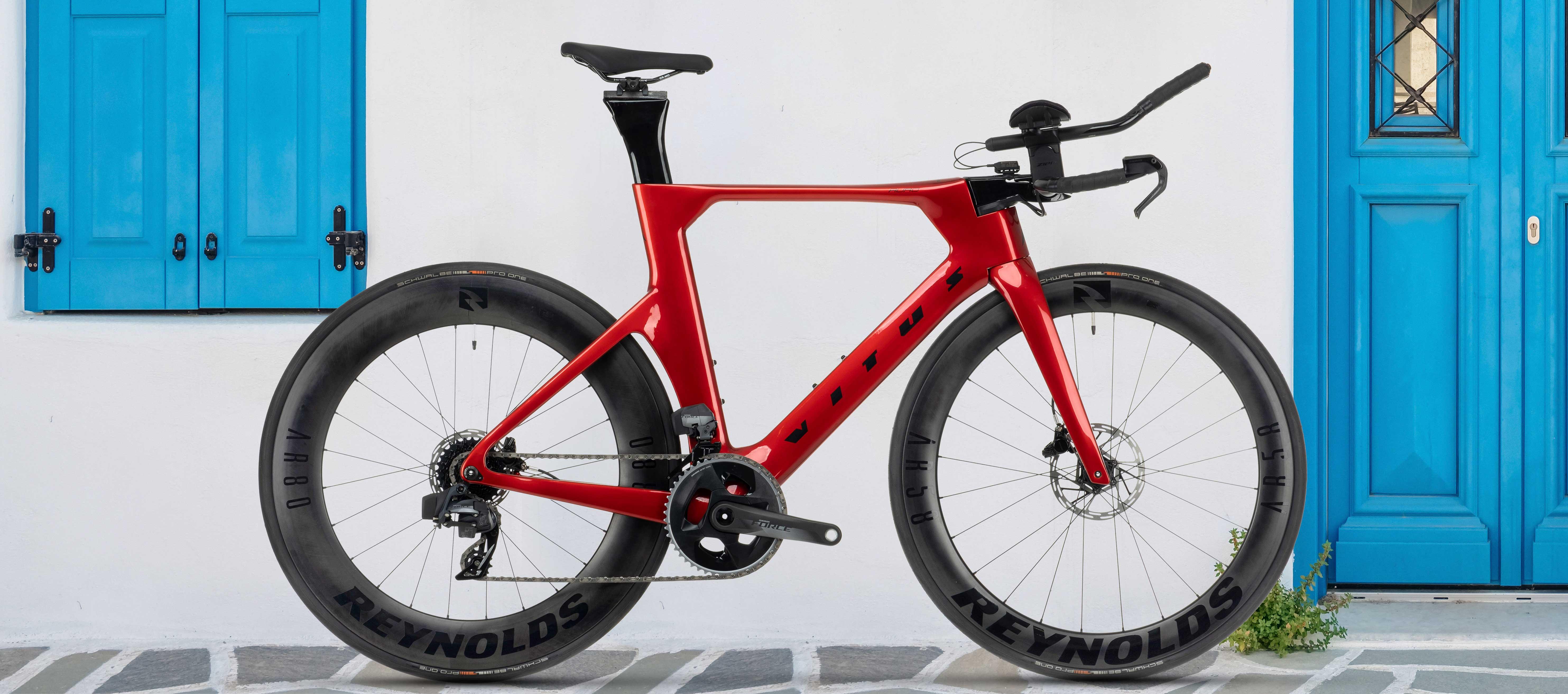 Vitus Auro CRS Disc eTap AXS TT Bike Force
