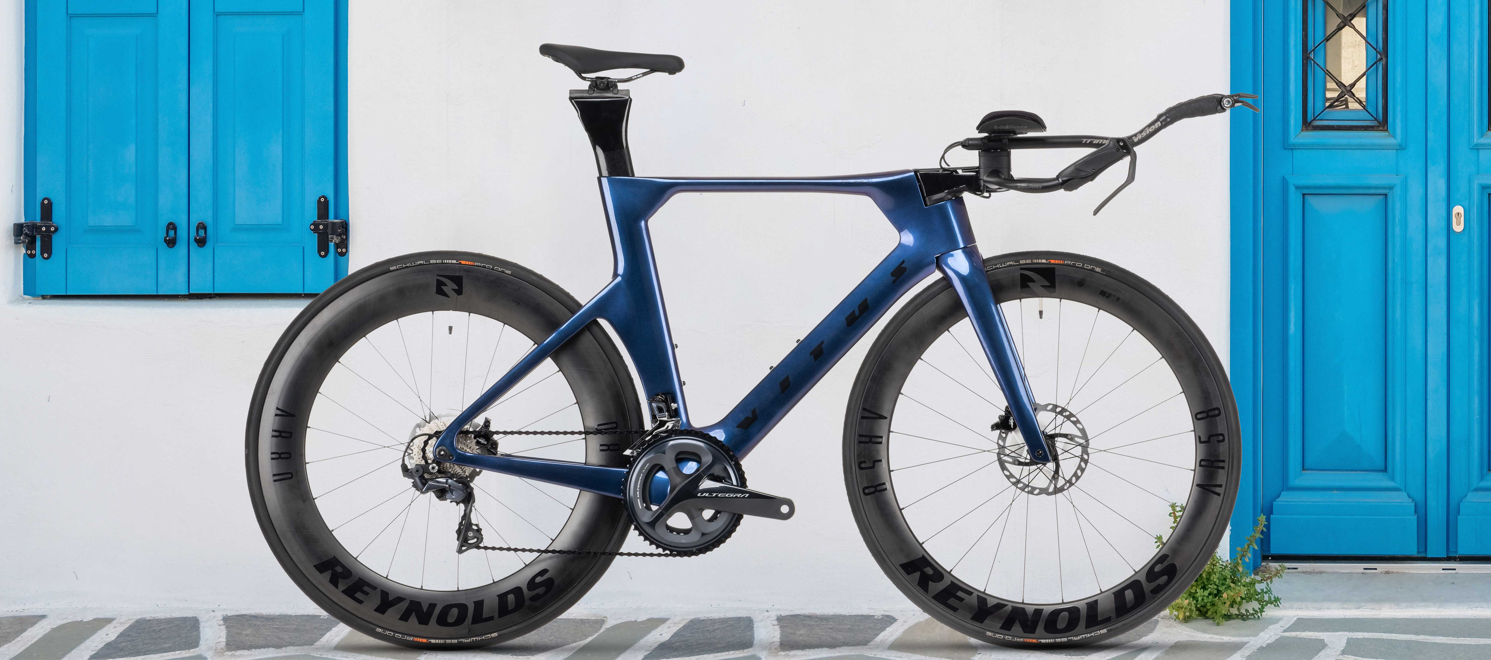 Vitus Auro CRS Disc TT Bike Ultegra