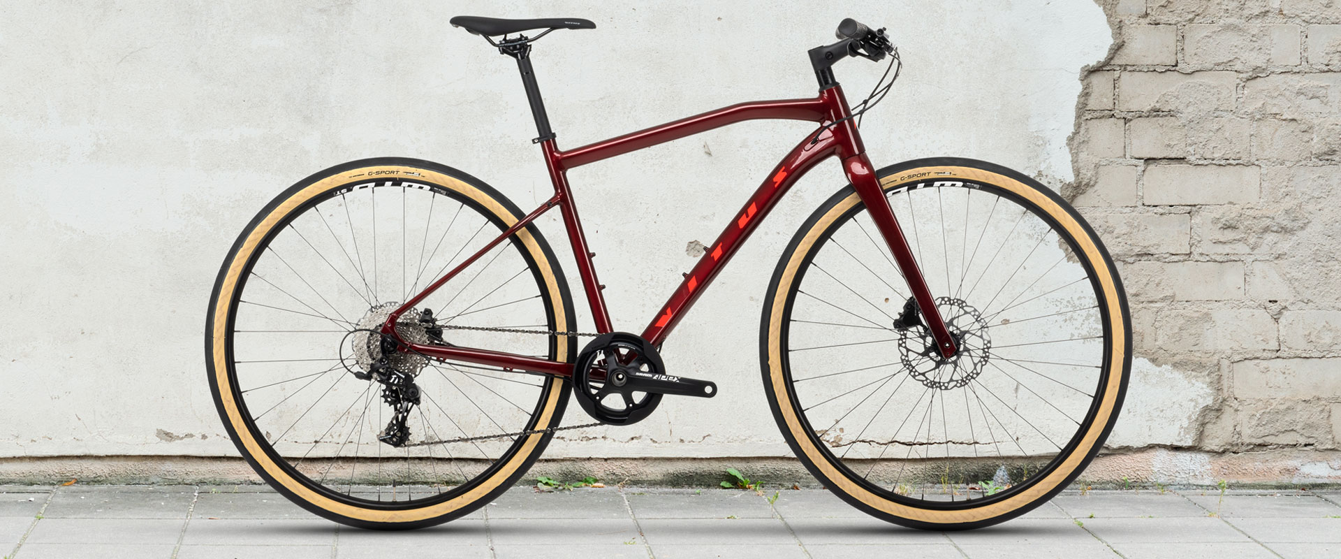 Vitus Mach 3 VRX Urban Bike Apex