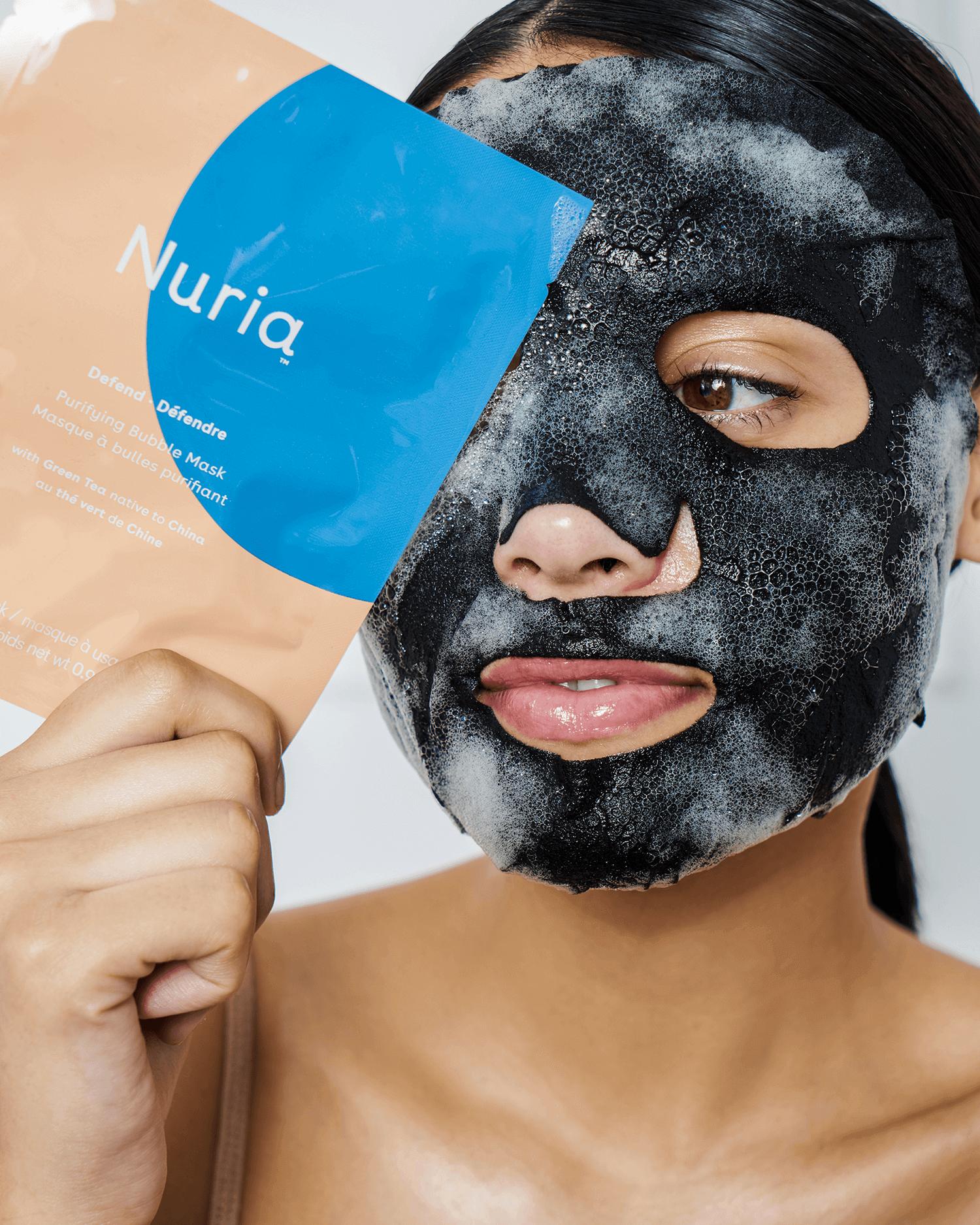 Defend Purifying Bubble Sheet Mask Set