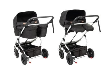 parent facing longevity for twins