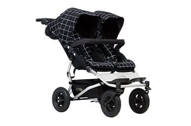a comfortable sized side-by-side double buggy at 14.5kg, for on and off road adventures