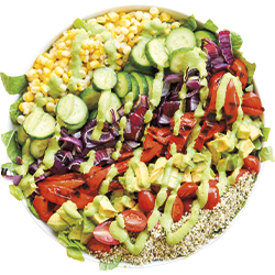Mix into salads and dressings
