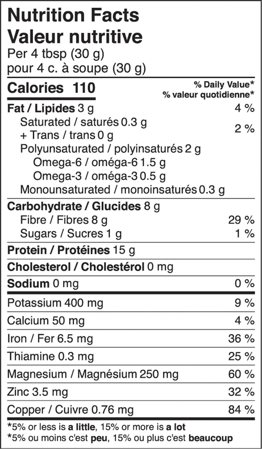 Protéine de chanvre Équilibrée Protéines + Fibres