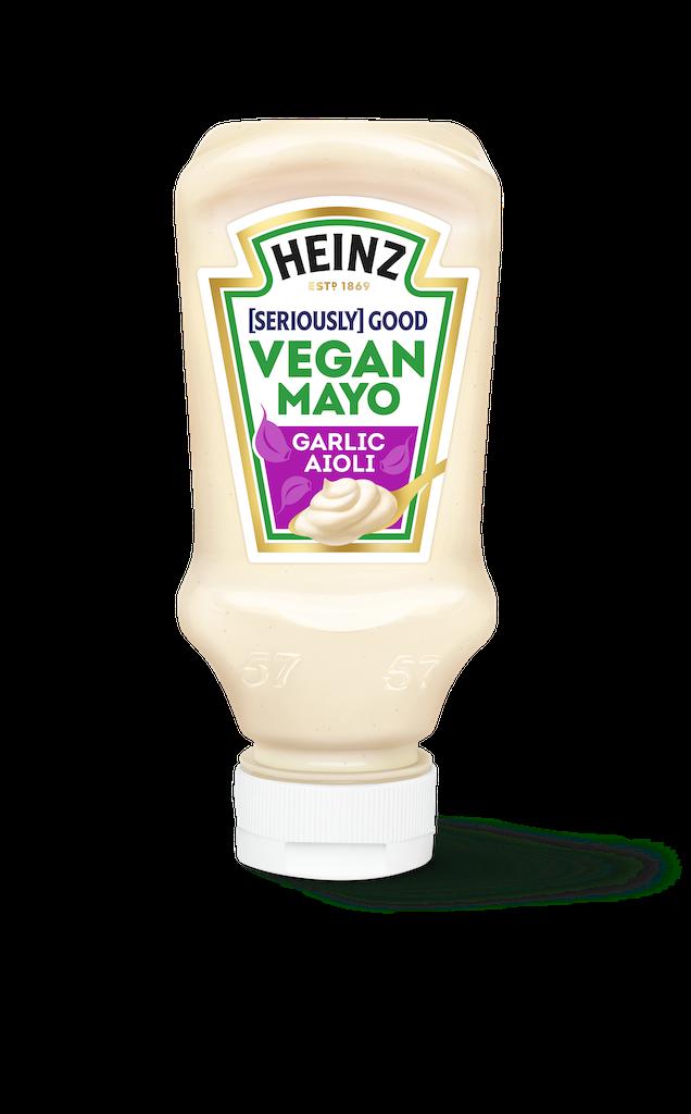 Photograph of 1 x Heinz [Seriously] Good Vegan Garlic Aioli product