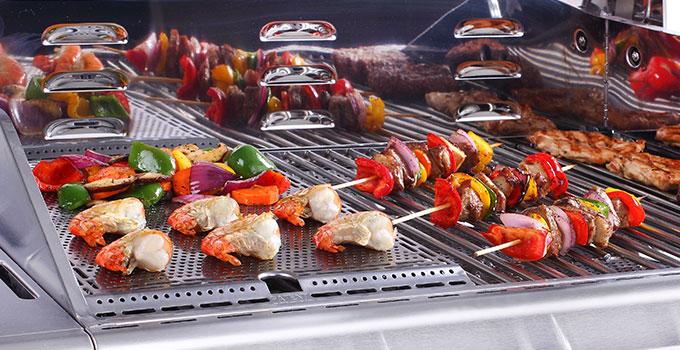 Nexgrill Evolution Barbecue à gaz 5 brûleurs en Acier
