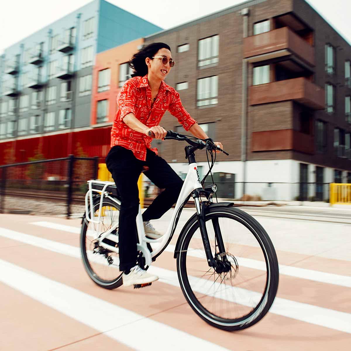 Fun electric mans bike