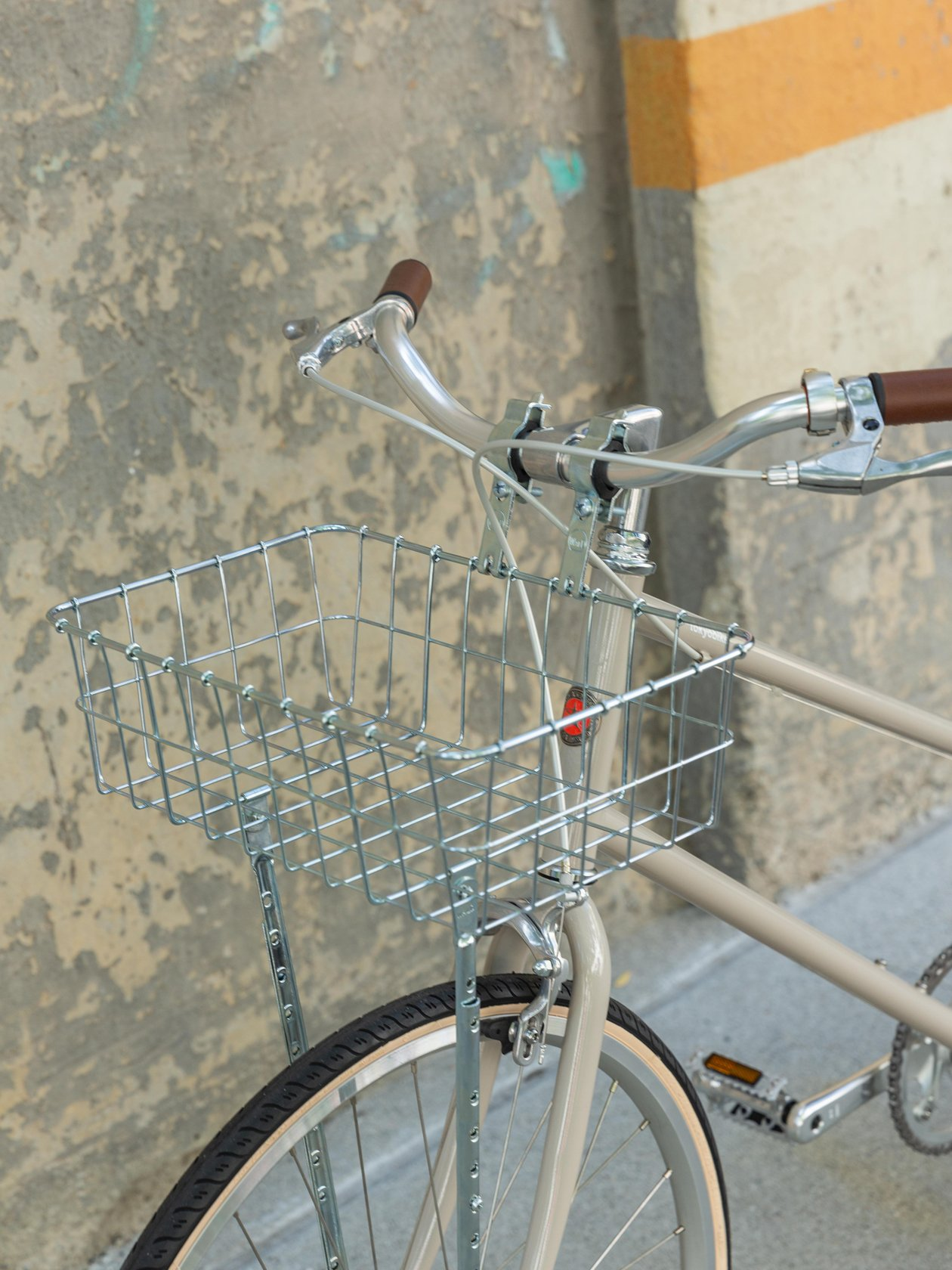Shallow Basket, Silver