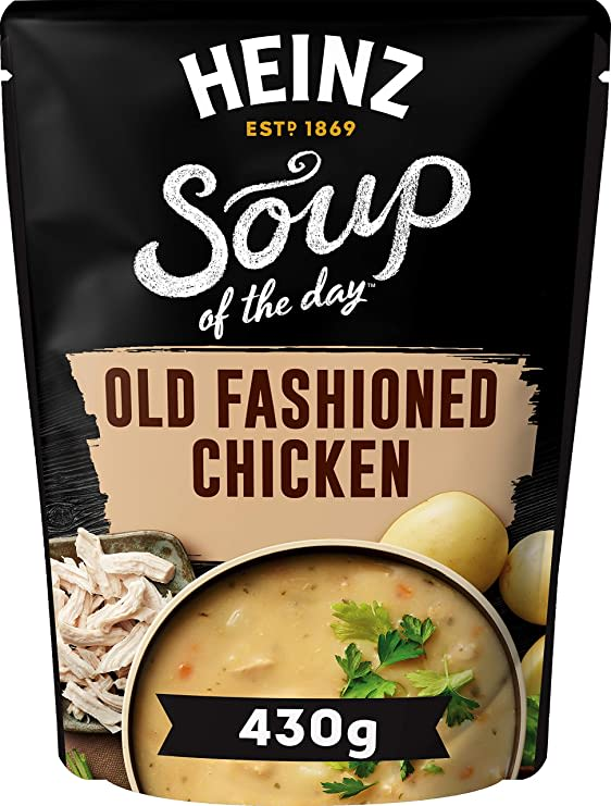 Photograph of 1 x 430g Heinz® Soup of the Day® Old Fashioned Chicken Soup product