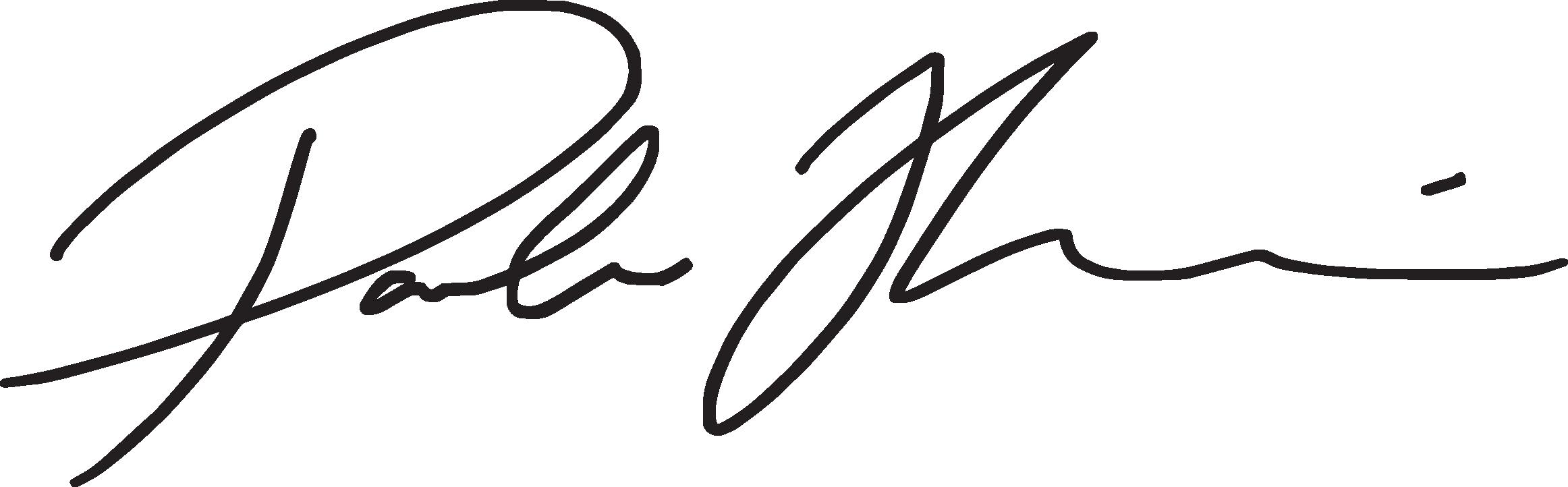 Signature Pamela Hannè