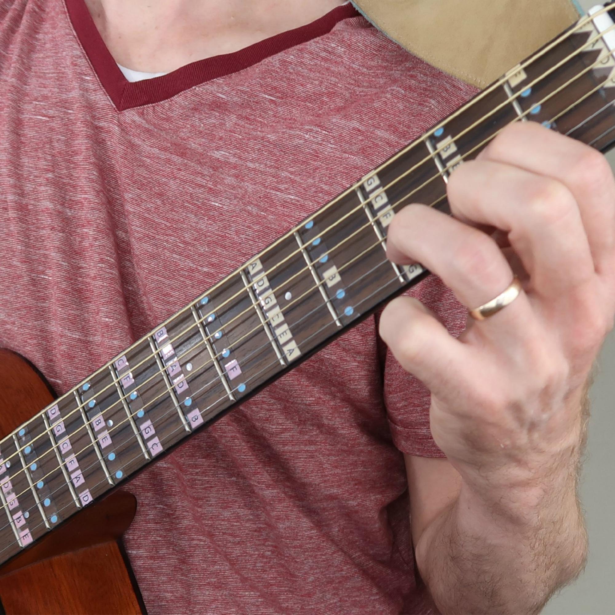 Fantastic Finger Guides Guitar in action