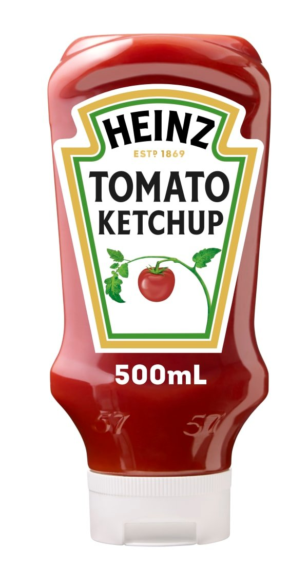 Photograph of 500mL Heinz® Tomato Ketchup product