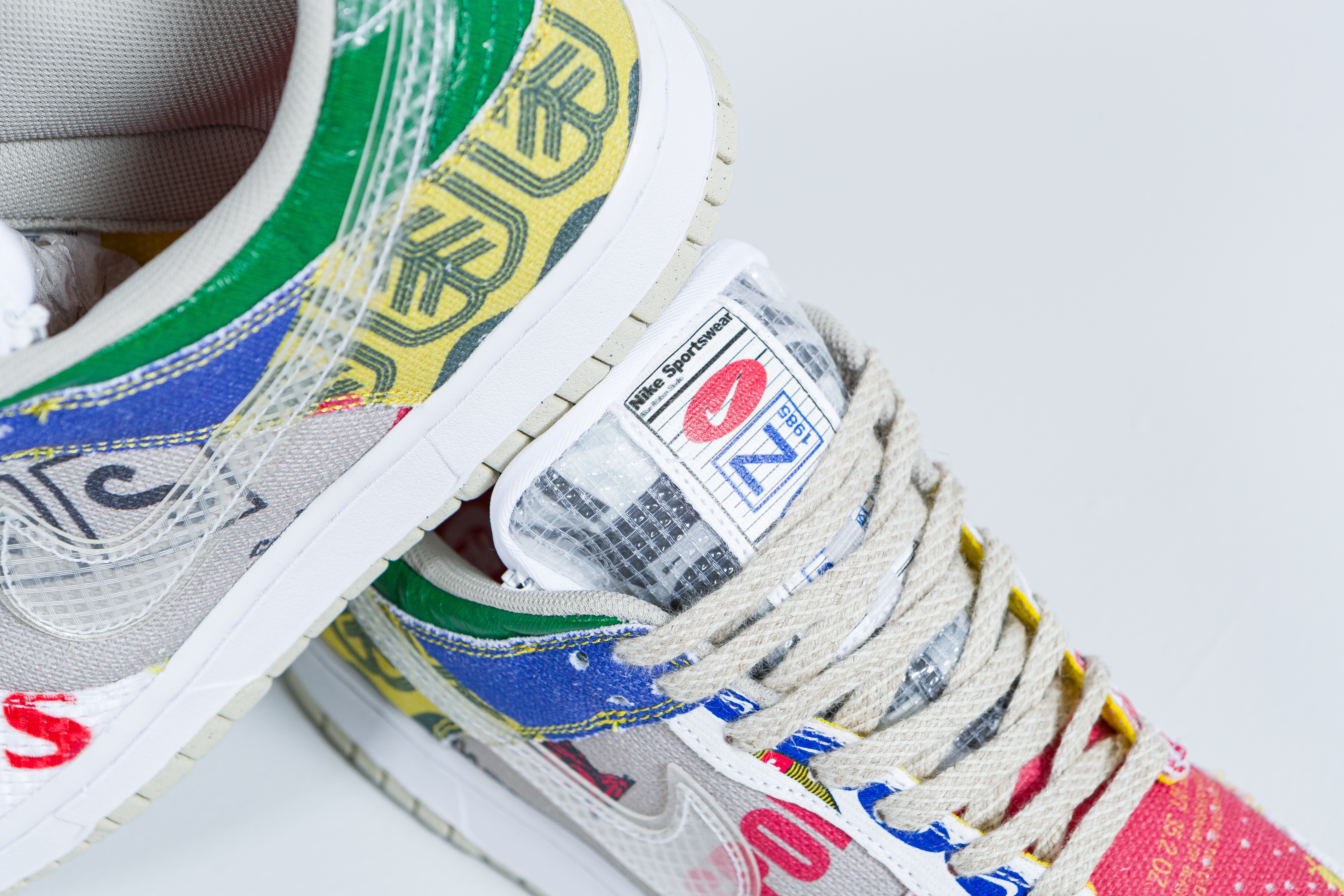 Up There Launches - Nike Dunk Low 'City Market'