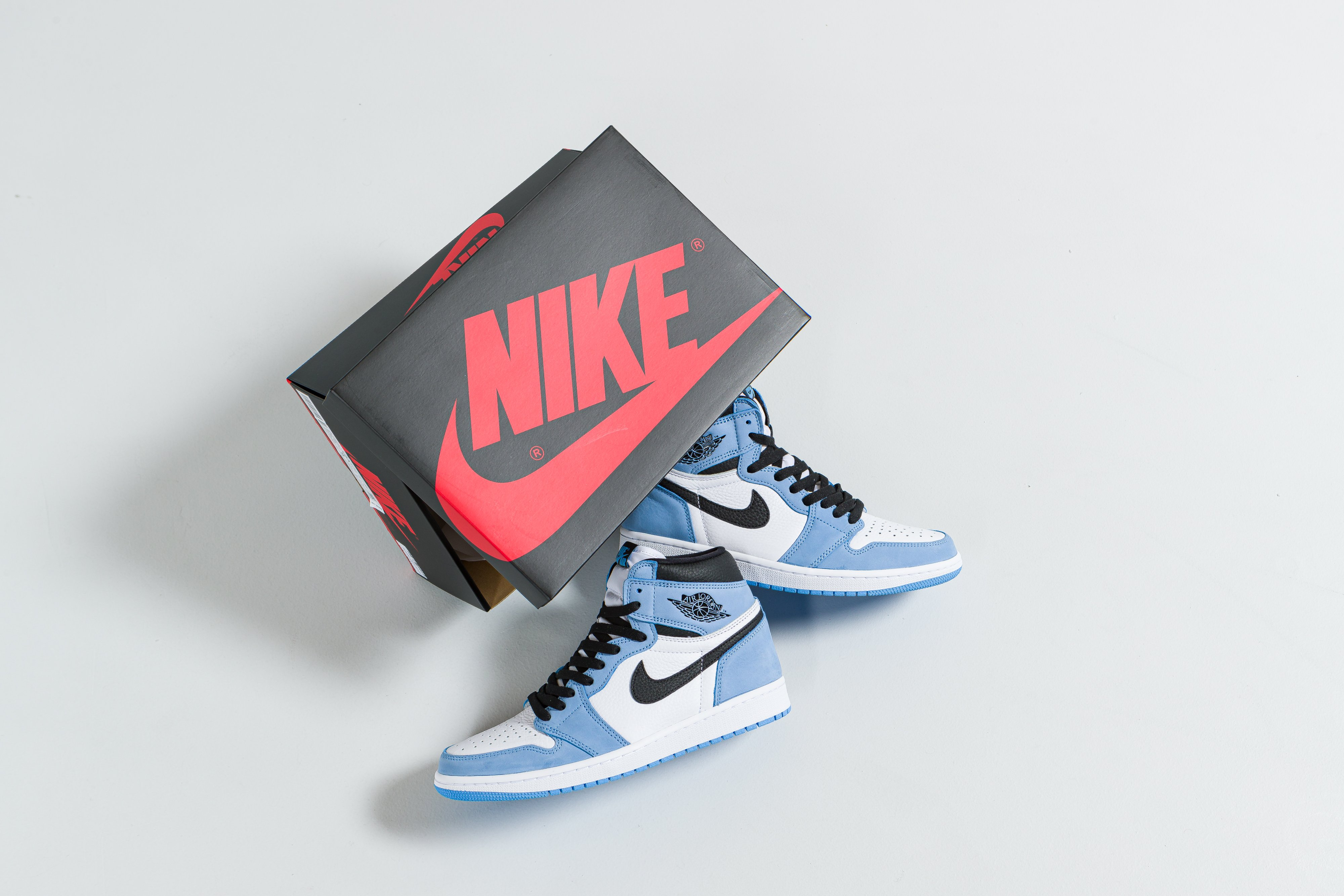 Up There Launches - Nike Air Jordan 1 Retro Hi 'University Blue'
