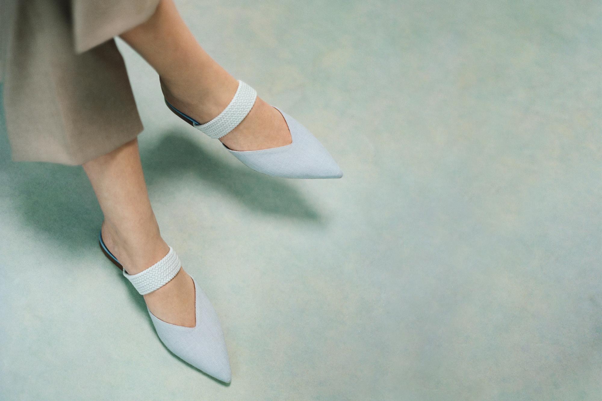 Women's Zero Waste Shoes Conscious Shoe Design by Malone Souliers