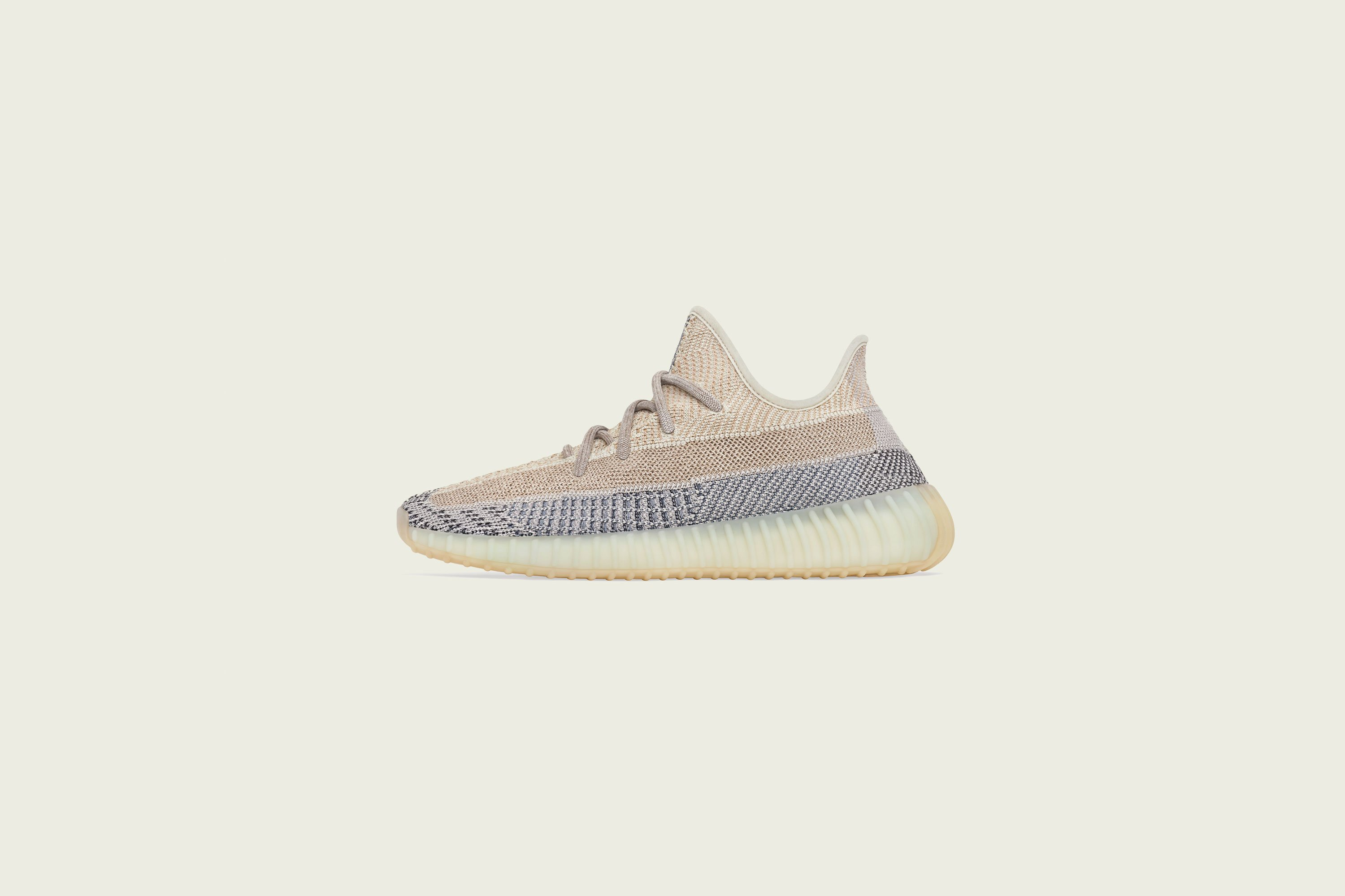 Up There Launches - adidas Yeezy Boost 350v2 - Ash Pearl