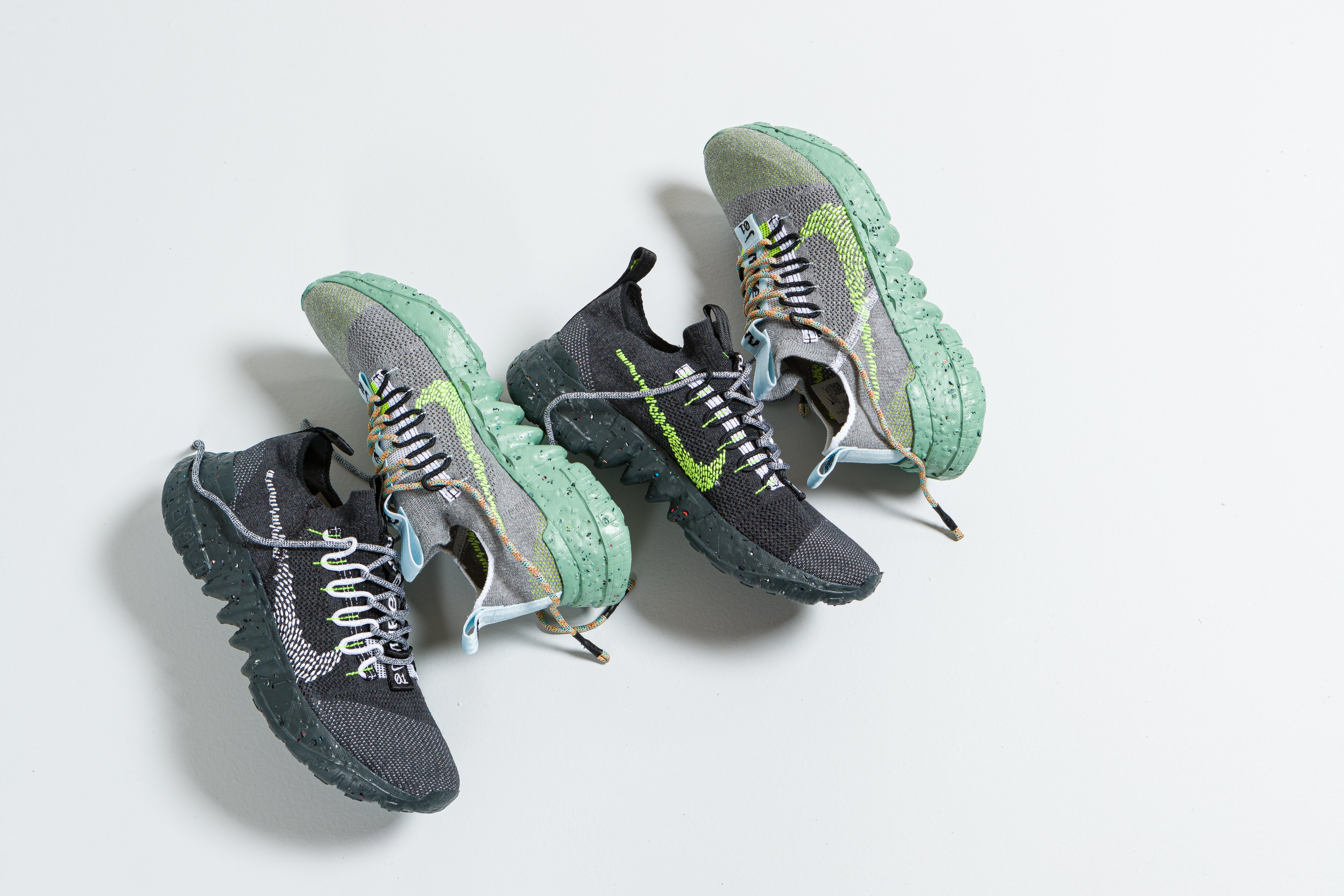 Up There Store - Nike Space Hippie 01 Anthracite & Wolf Grey