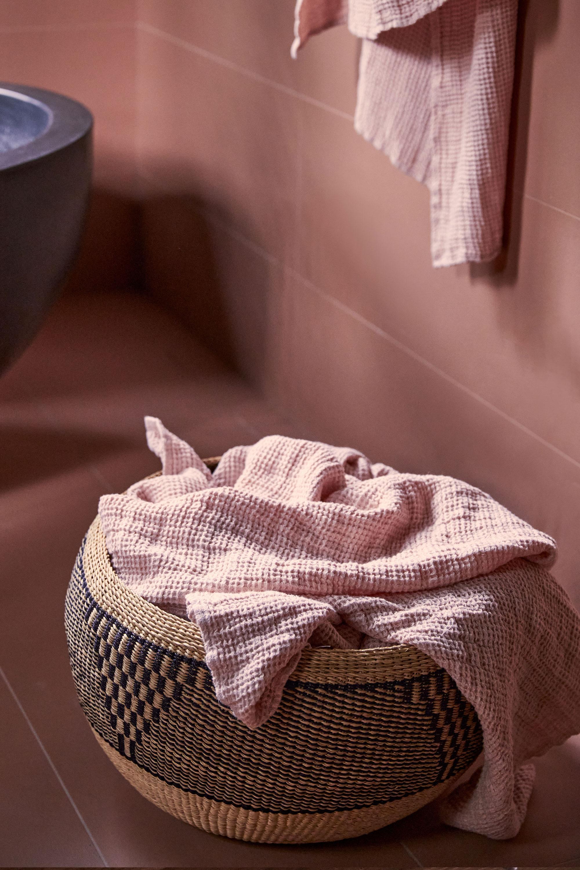 Juno Blush Bath Towel + Juno Blush Robe