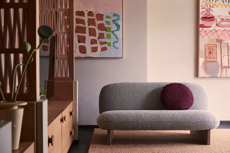 BZippy Vessel, Doreen Chapman Painting, Ziggy Sofa, Bowie Cushion + Studio of the Sun Painting