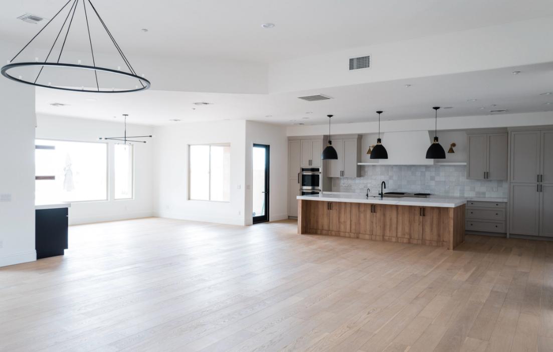 #AutumnSageProj Empty Living Room and Kitchen