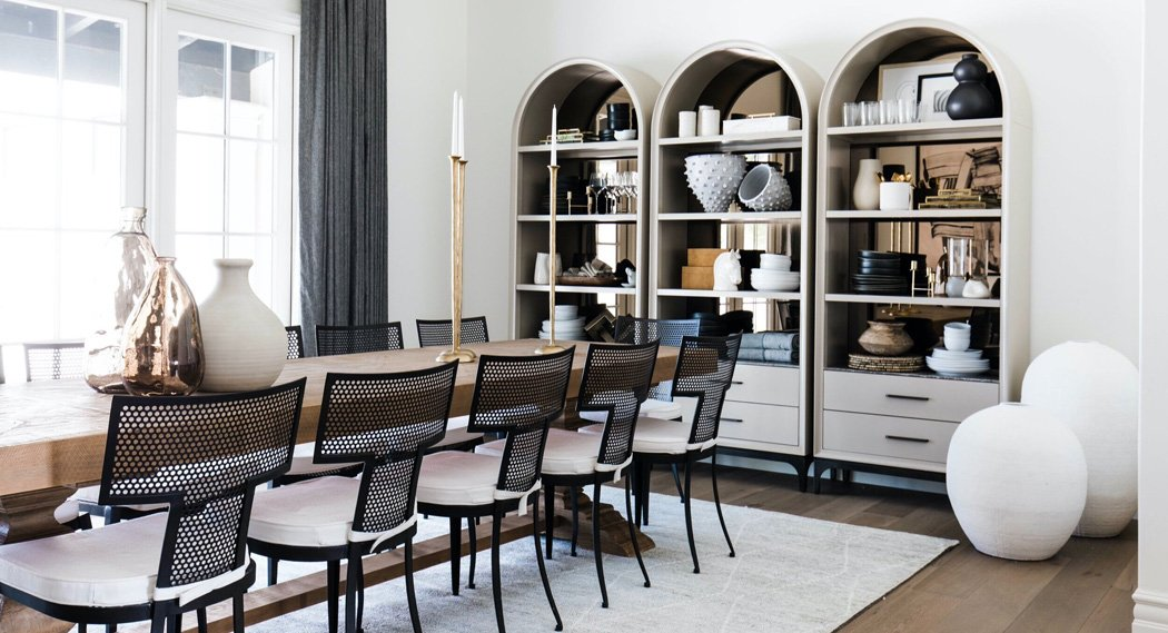 The LifestyledCo #PartyHouseProj Dining Room