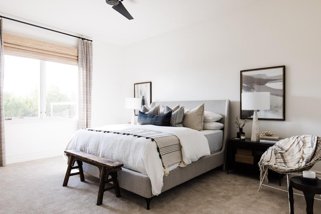 The LifestyledCo #PartyHouseProj Guest Bedroom