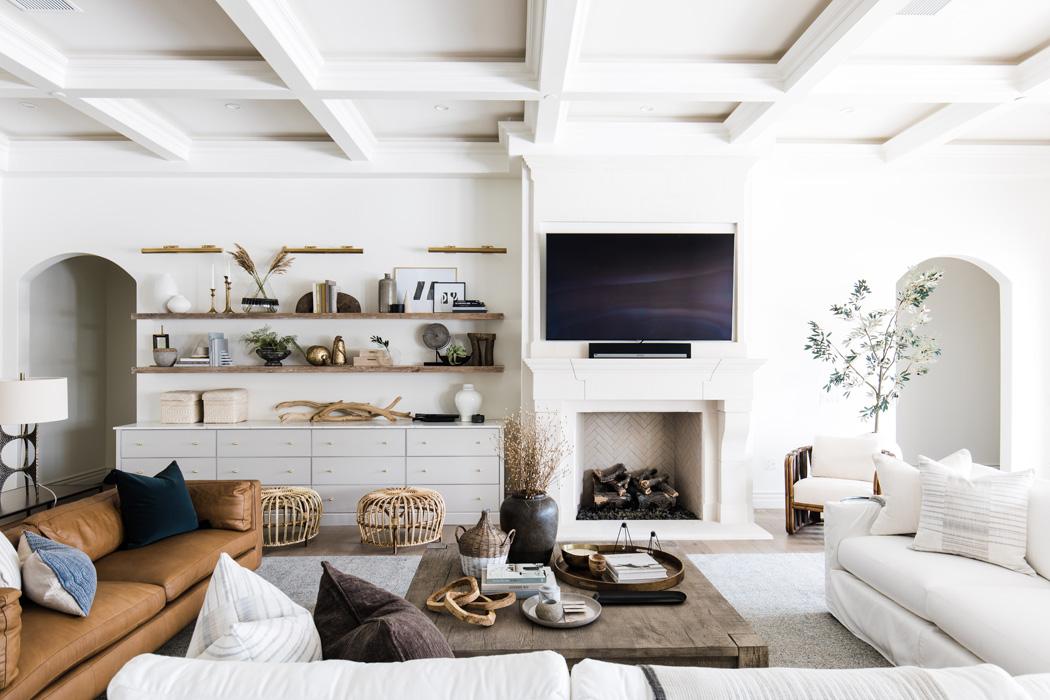 The LifestyledCo #PartyHouseProj Living Room