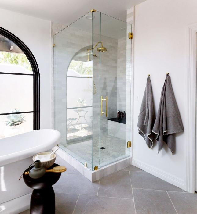 #CalleEastProj Bathroom Shower Details