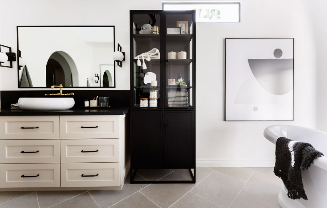 #CalleEastProj Bathroom Cabinets