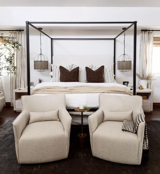 #CalleEastProj Bedroom with Chairs