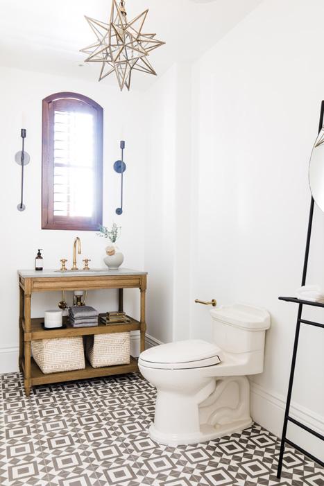 The LifestyledCo #MaverickDrProj Guest Bath