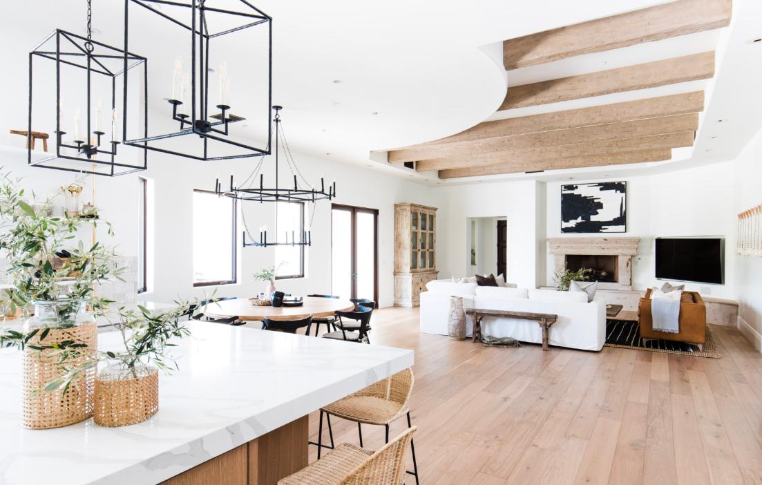 #MaverickDrProj Living Room and Kitchen Counter