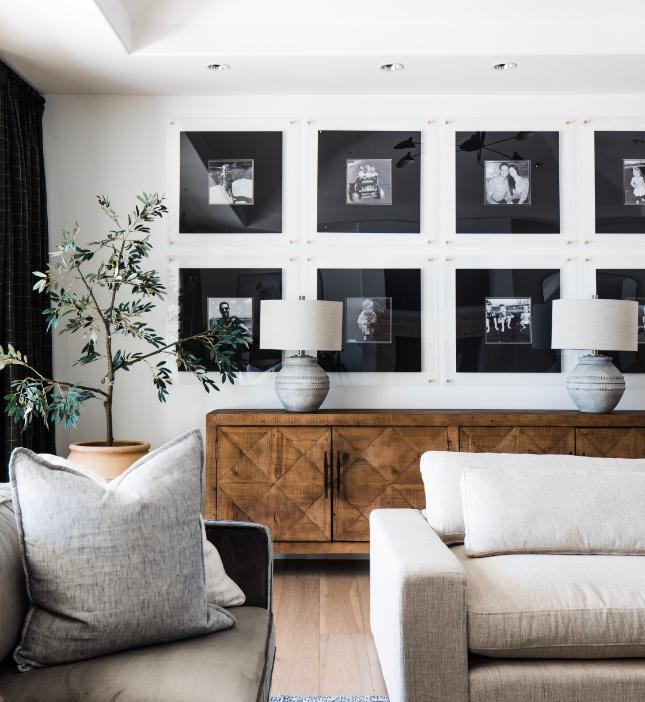 #MaverickDrProj  Living Room and Gallery Wall