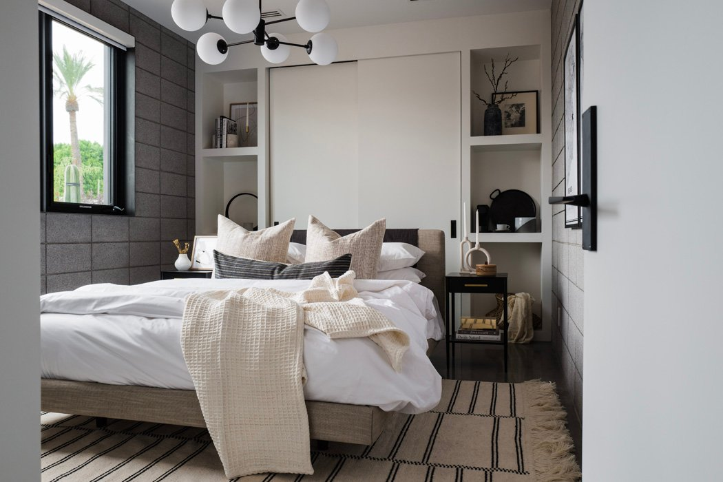 The LifestyledCo #ODLModernProj Guest Bedroom
