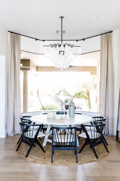 The LifestyledCo #TheGreatLakeProj Dining Room