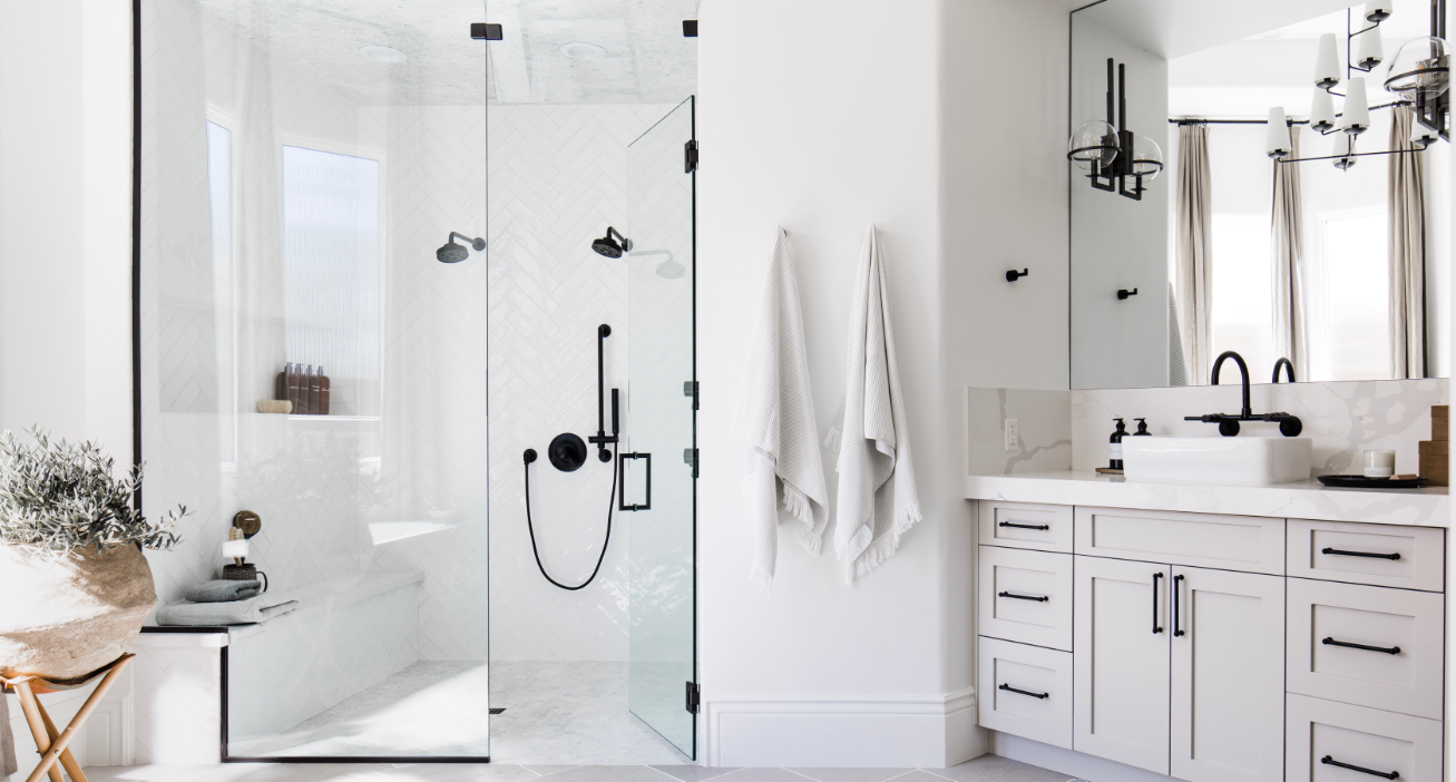 #TheGreatLakeProj Bathroom Shower