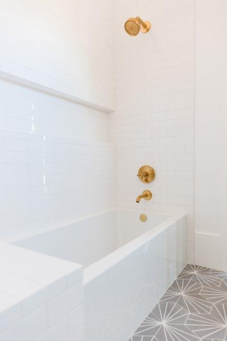 The LifestyledCo #DarlingAbodeProj Guest Bath