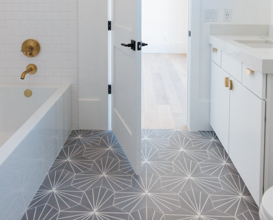 #DarlingAbodeProj Bathroom Tile